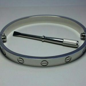 Screw & Screwdriver Bracelet Bangle